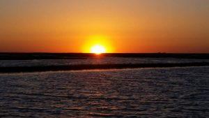 Sunset at Blue Water RV Resort